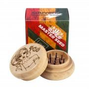"""Гриндер 4:20 Legalize """"Master Seed"""" сувенир дерево 54 мм"""